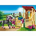 Playmobil Horse Stable with Arabian