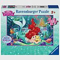 Disney Princess Hugging Arielle 24 Piece Floor Puzzle