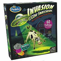 Invastion of the Cow Snatchers Logic Game