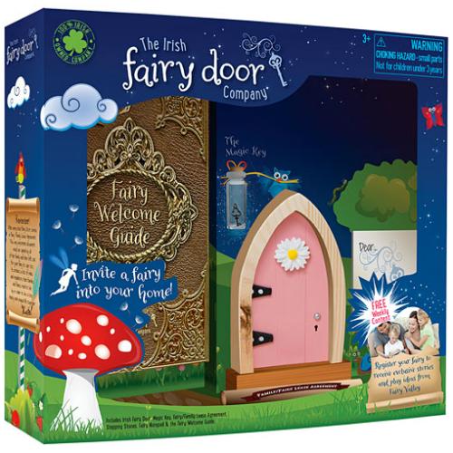Irish fairy door pink smart kids toys for Idea behind fairy doors