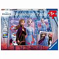 Disney Frozen 2 Journey Starts 3x49 Piece Puzzle