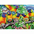 Land of the Lorikeet 1000 Pc Puzzle