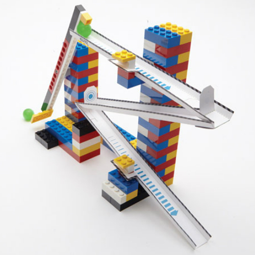 lego marble run instructions