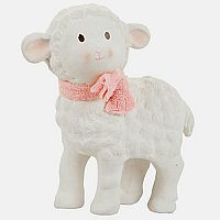 Lila the Lamb Natural Rubber Toy