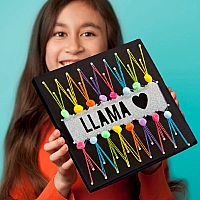 Craft-tastic Llama String Art