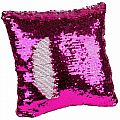 Magic Sequin Pillow Pink/Silver