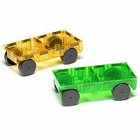 Magna-Tiles Cars Expansion Set