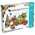 Magna-Tiles Metropolis 110 pc Set