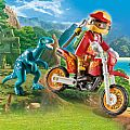 Playmobil Motocross Bike with Raptor