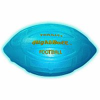 Nightball Inflated Football - Blue
