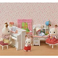 Calico Critters Piano & Desk Set