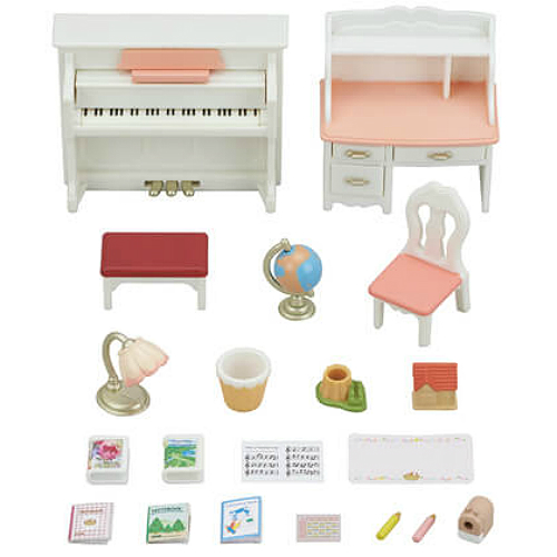 Calico Critters Piano Amp Desk Set Smart Kids Toys