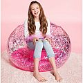 Pink Confetti Inflatable Sparkle Chair