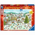 Playful Christmas Day 1000 PC Puzzle