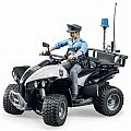 Bruder Police Quad with Policeman