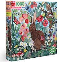 Poppy Bunny 1000 Pc Puzzle