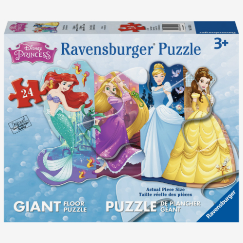 Disney Pretty Princesses Shaped Floor Puzzle Smart Kids Toys