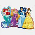 Disney Pretty Princesses Shaped Floor Puzzle