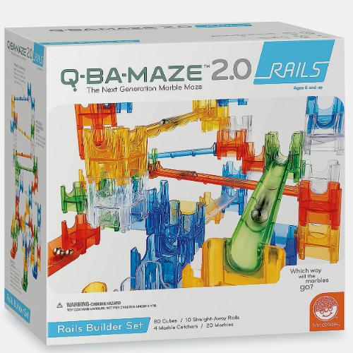 Q Ba Maze 2 0 Rails Builder Set Smart Kids Toys