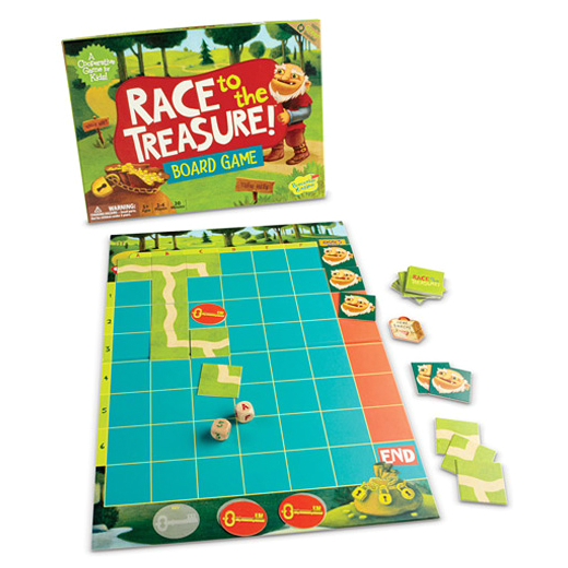 Gmc Customer Service >> Race to the Treasure Board Game - Smart Kids Toys