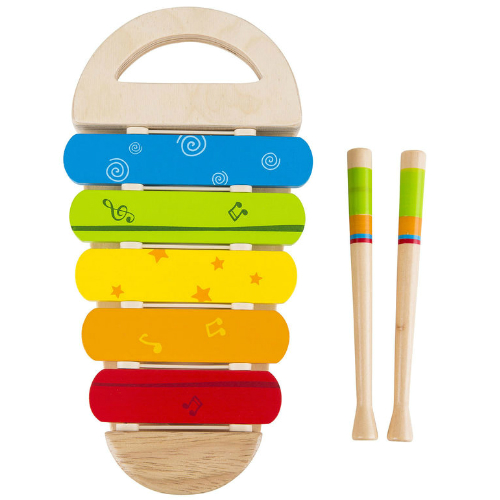 Hape rainbow xylophone smart kids toys