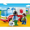 Playmobil 1.2.3 Rescue Ambulance