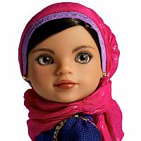 Shola from Afghanistan Hearts for Hearts Doll