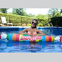 Giant Smarties Pool Noodle