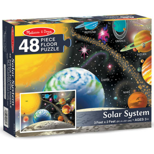 Solar System Floor Puzzle 48 Pc Smart Kids Toys