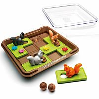 Squirrels Go Nuts! Puzzle Game