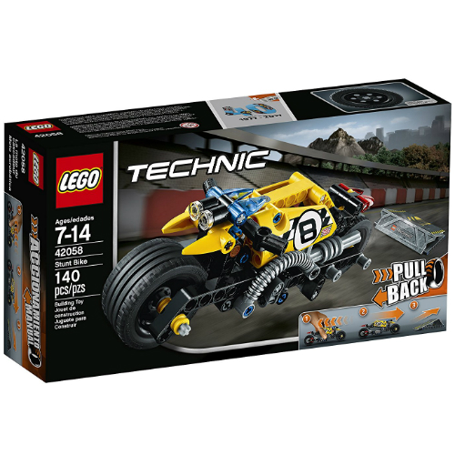 lego technic stunt bike smart kids toys. Black Bedroom Furniture Sets. Home Design Ideas