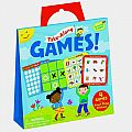Take Along Games Reusable Sticker Tote
