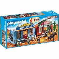 Playmobil Take Along Western City