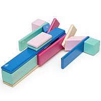 Tegu Magnetic Wooden Blocks 24 pcs - Blossom