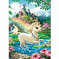 Unicorn Castle 35 Piece Puzzle