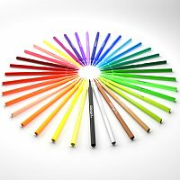 KINGART Watercolor Brush Markers (36)