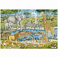 Watering Hole Delight 24 Pc Floor Puzzle
