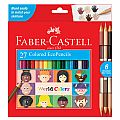 Faber-Castell World Colors 27 Colored Pencils