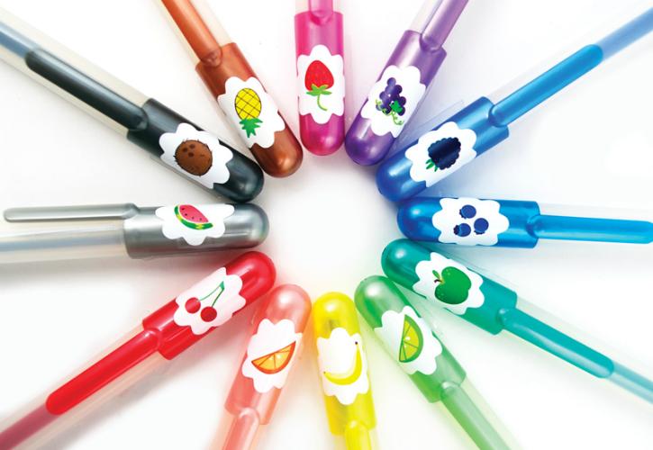Yummy Yummy Scented Glitter Gel Pens