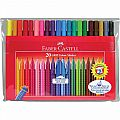 Faber-Castell GRIP Washable  Markers  20 PC